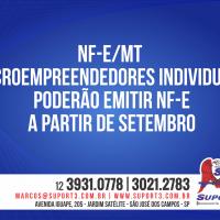 NF-e/MT – Microempreendedores individuais poderão emitir NF-e a partir de setembro